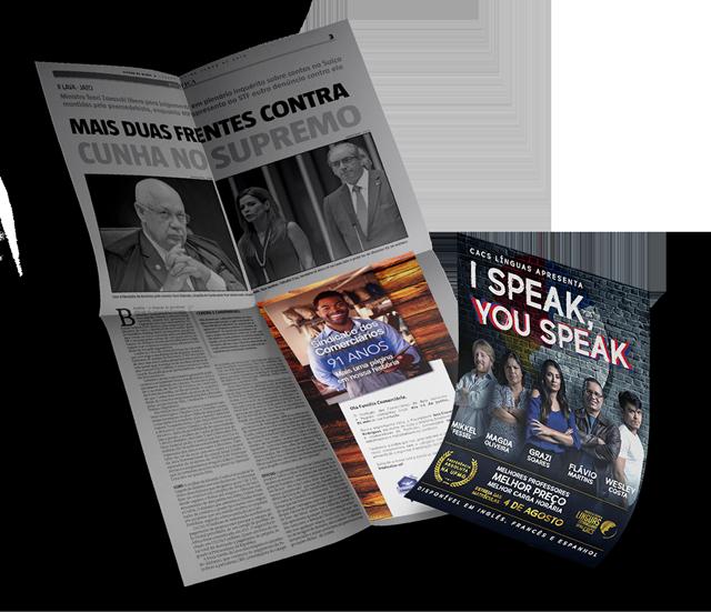 Campanhas do SEC-BH e CACS línguas