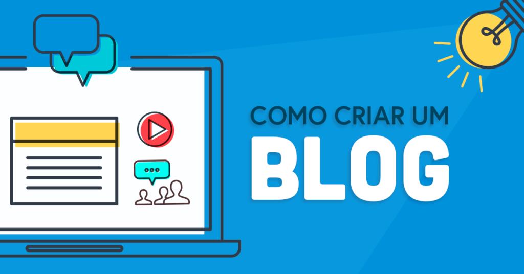como fazer um blog gratis passo a passo